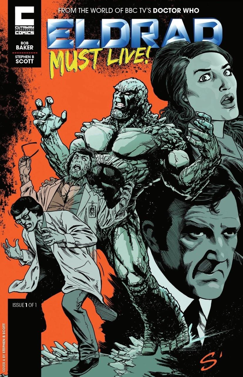 Cutaway Comics Launch OMEGA and ELDRAD, From John Ridgway and Bob Baker!