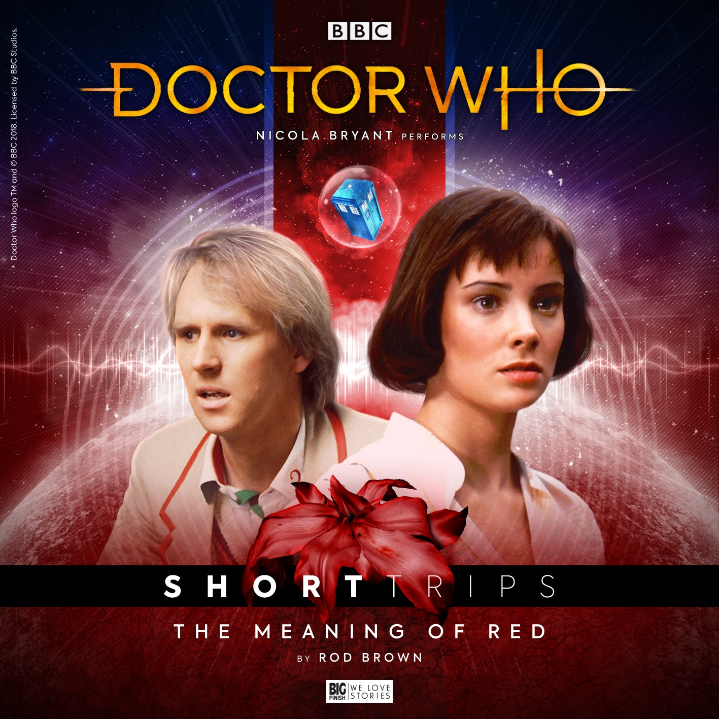 Reviewed: Big Finish's Doctor Who Short Trips – The Meaning of Red