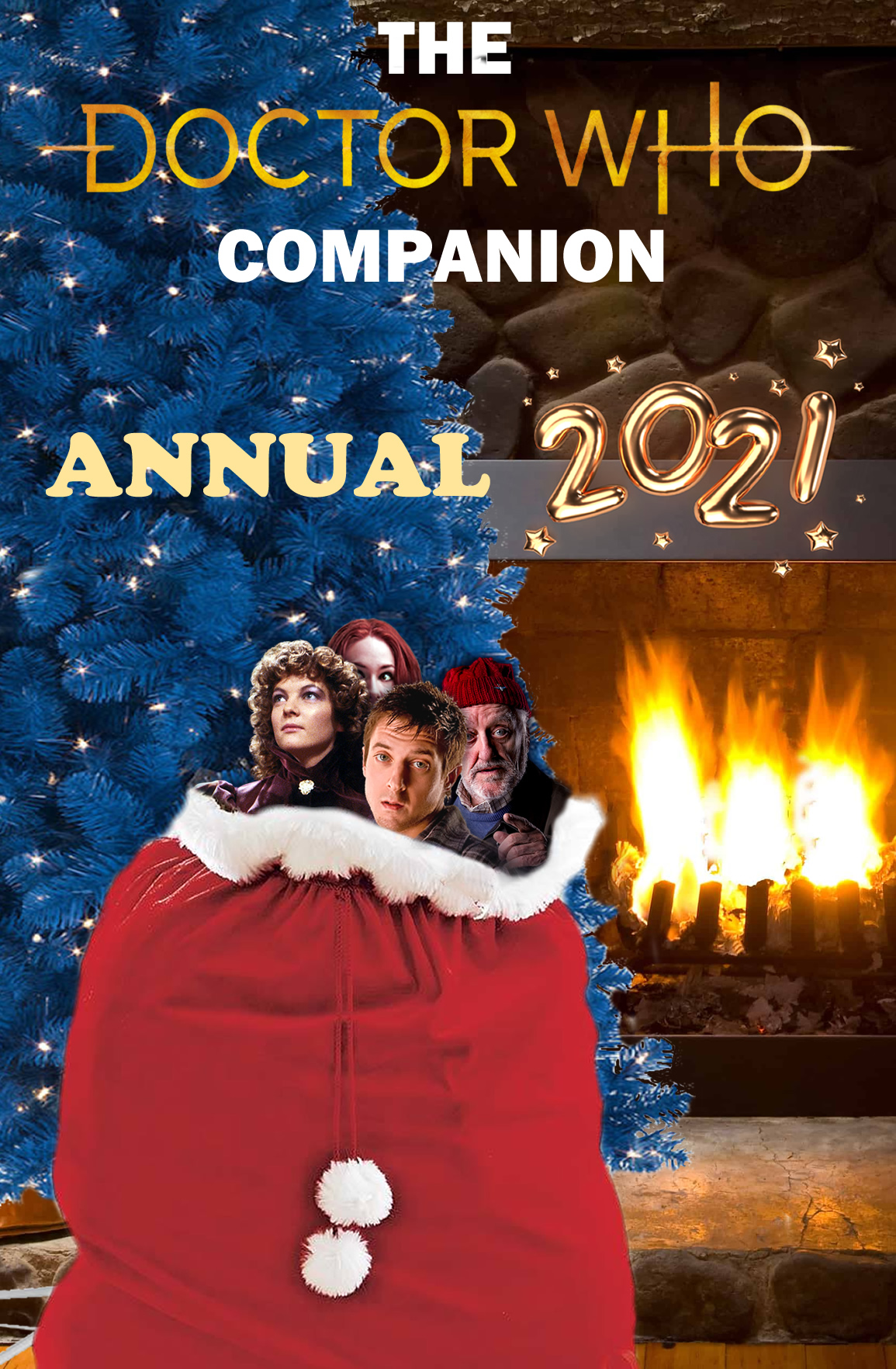 Merry Christmas: Celebrate with the Free Doctor Who Companion Annual 2021!