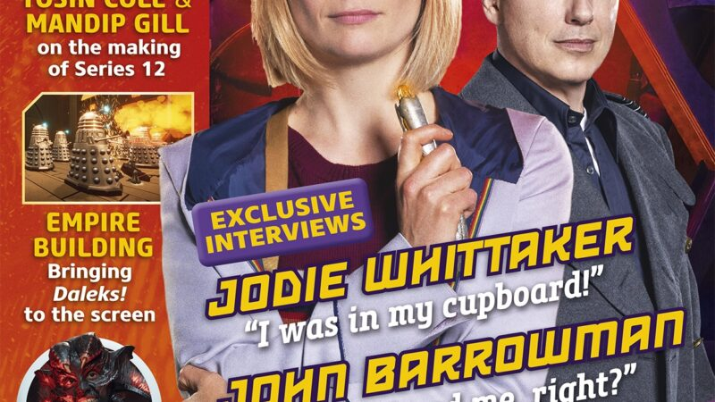 Out Now: Doctor Who Magazine Special Edition – The 2021 Yearbook