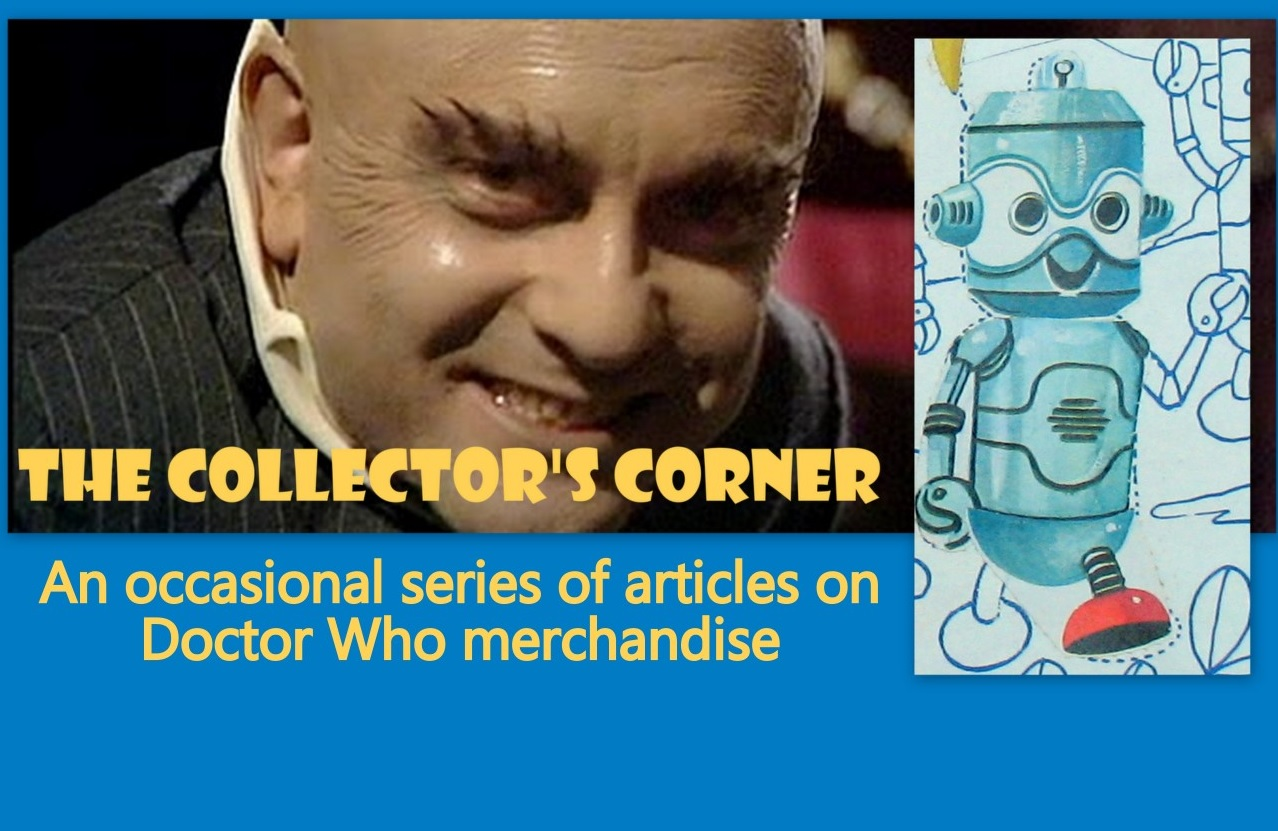 The Collector's Corner #11: Dr Who (as played by William Hartnell) Sticker Fun Book
