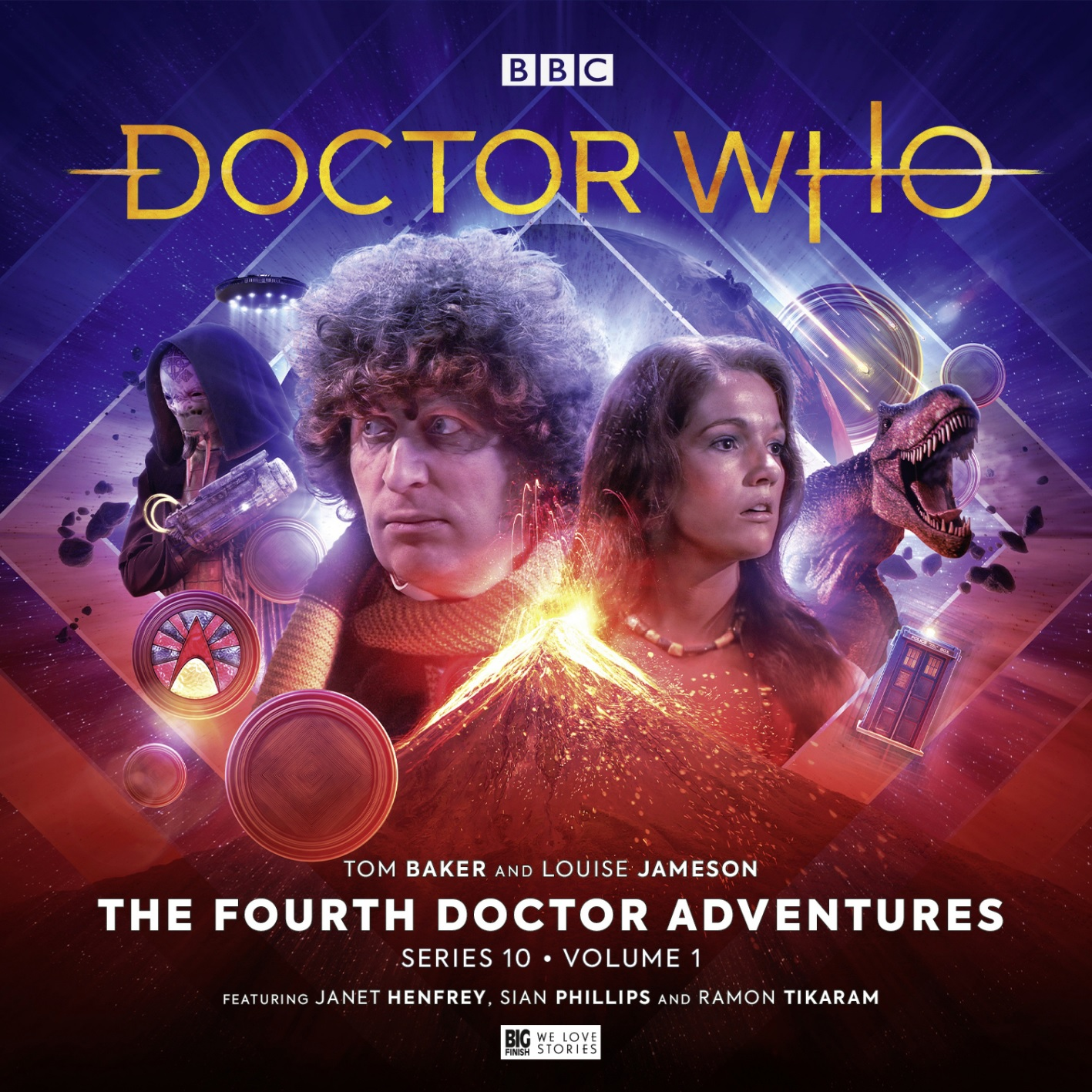 Out Now: Big Finish Celebrates Tom Baker's Birthday with the Fourth Doctor Series 10, Volume 1