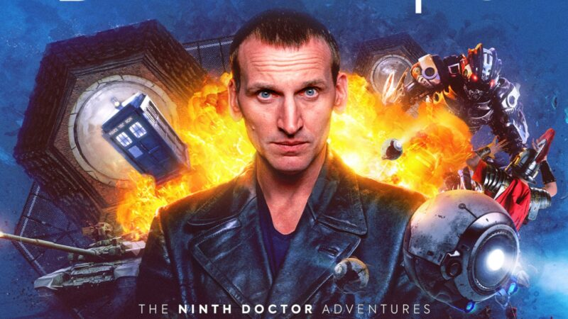 Cover and Details Revealed for Big Finish's Ninth Doctor Adventures: Ravagers