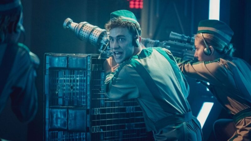 Go Behind the Scenes on It's A Sin's Doctor Who Crossover Sequence, Regression of the Daleks