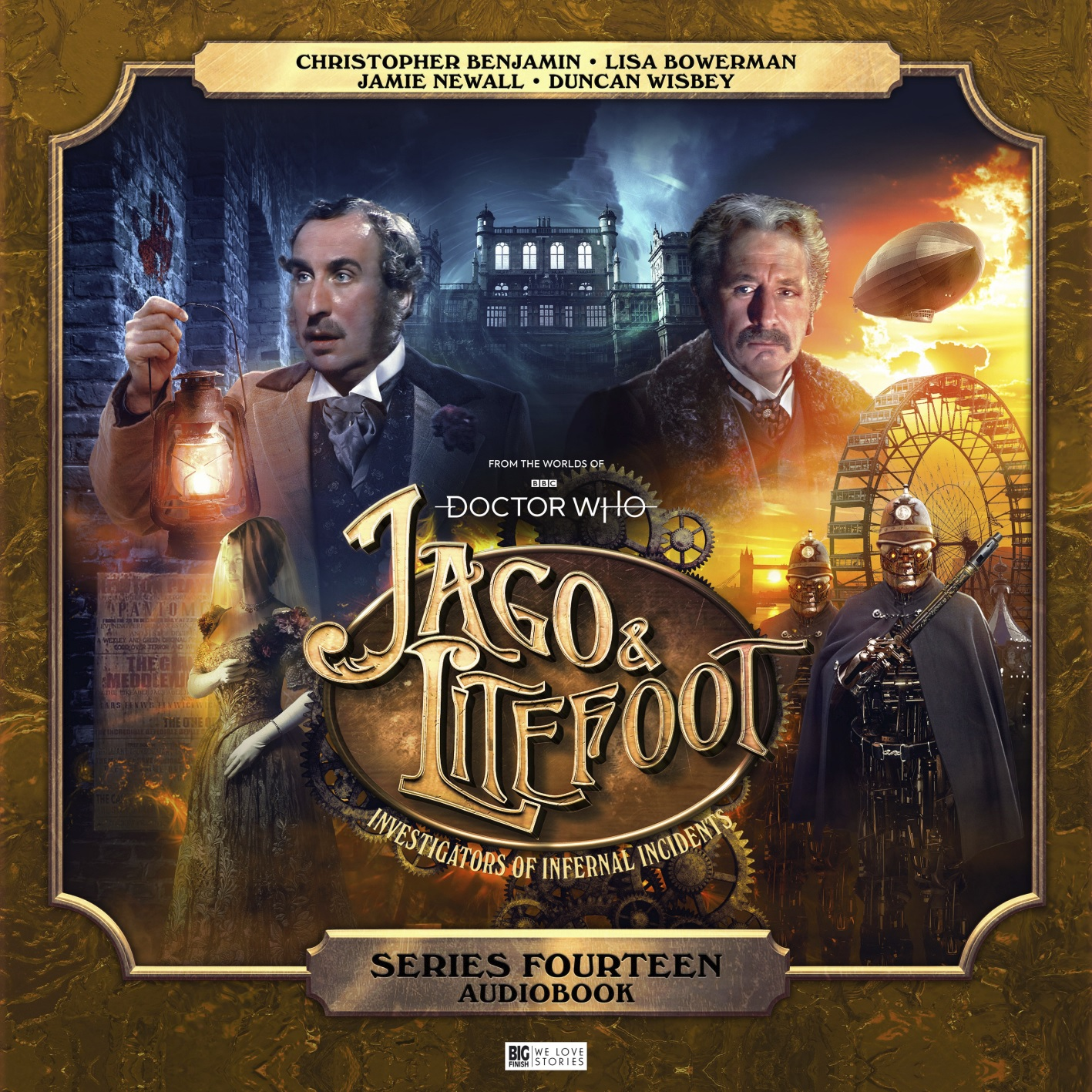 Big Finish's Infernal Investigators Are Back for Jago and Litefoot, Series 14