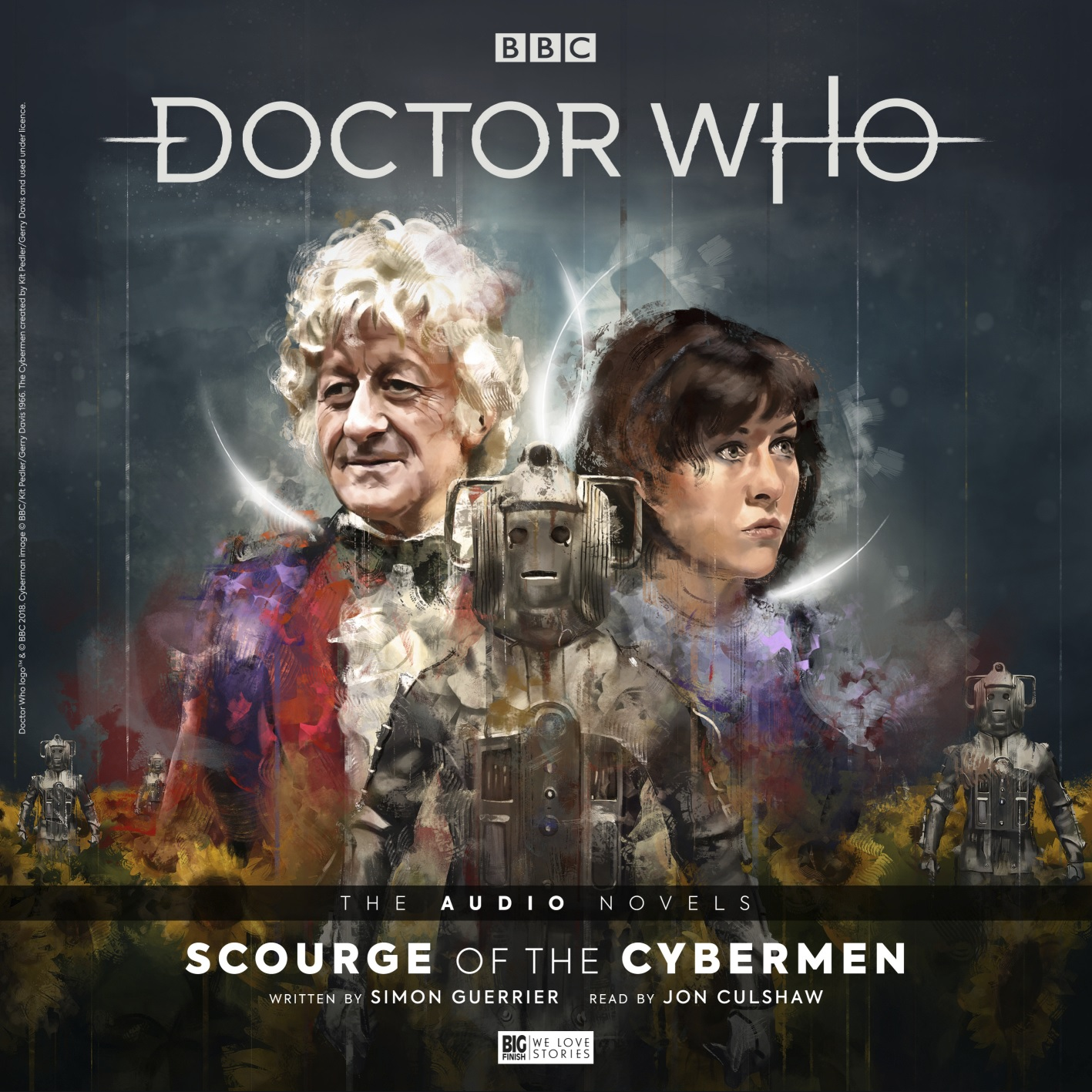 Coming Soon: Doctor Who The Audio Novels Range Begins with Scourge of the Cybermen