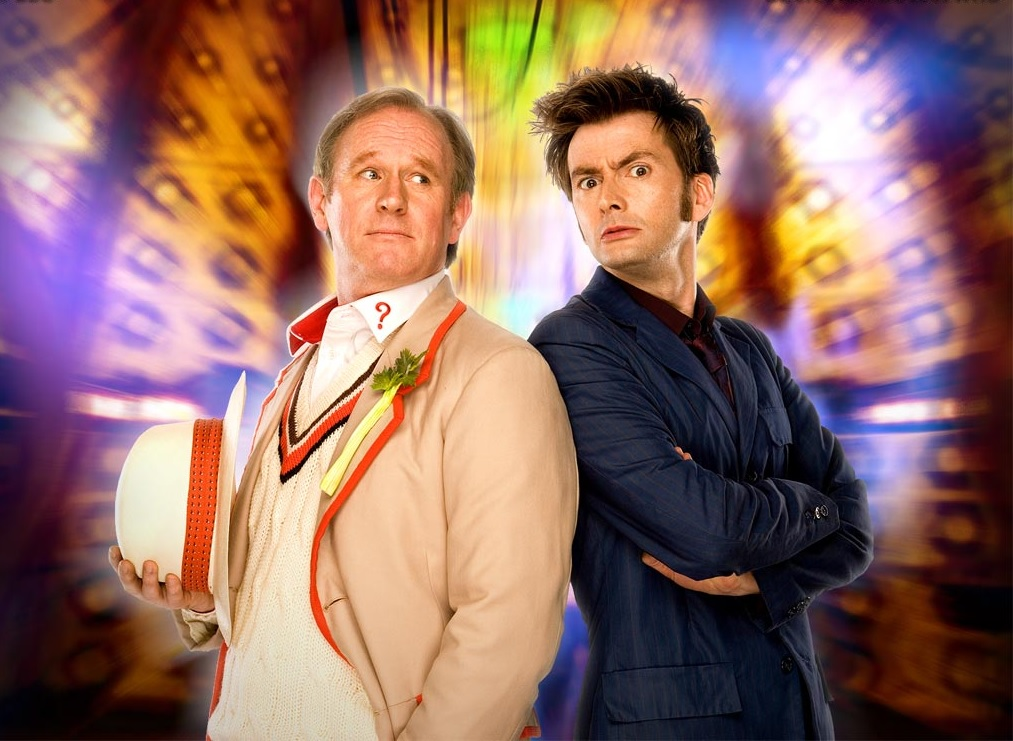 The Fifth and Tenth Doctors Fight Cybermen in Big Finish's Out of Time – The Gates of Hell