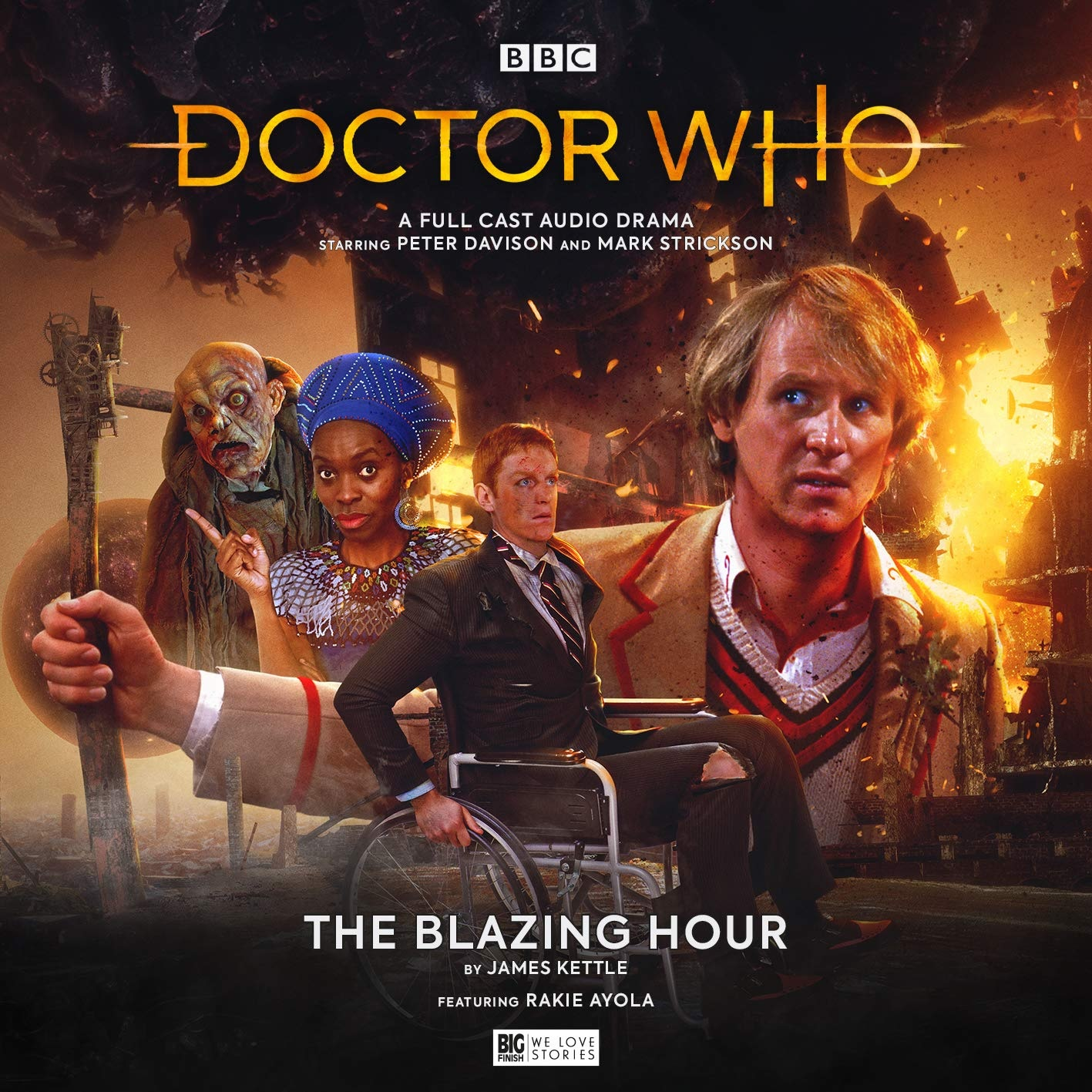 Reviewed: Big Finish's The Blazing Hour