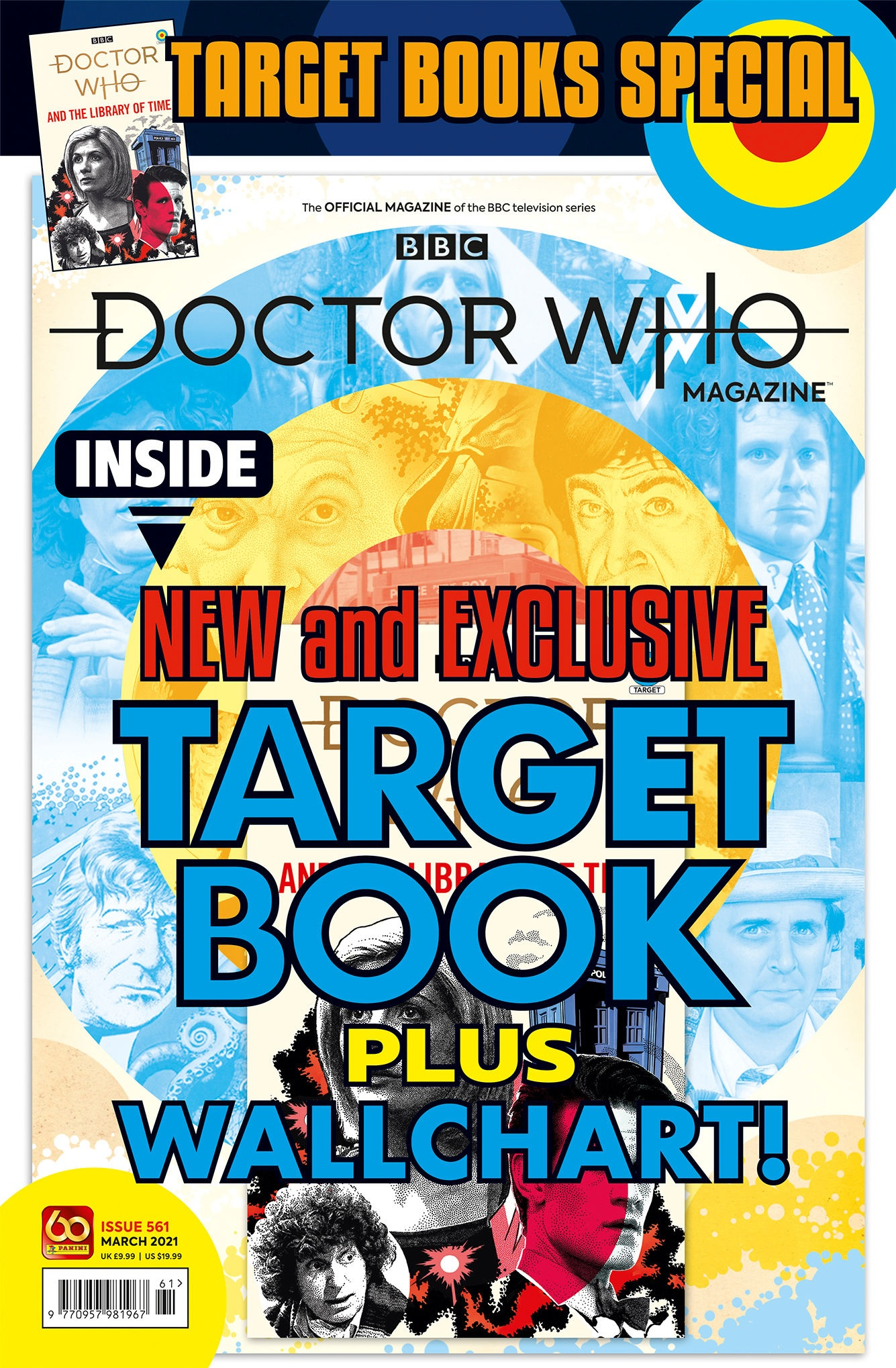 Out Now: Get An Exclusive Target Extracts Book with Doctor Who Magazine #561