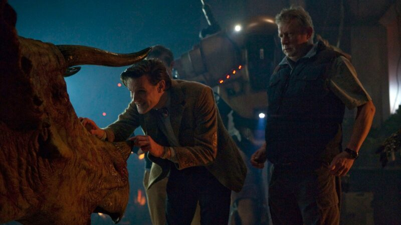 Join in on the Next Doctor Who Lockdown Rewatch This Weekend: Dinosaurs on a Spaceship