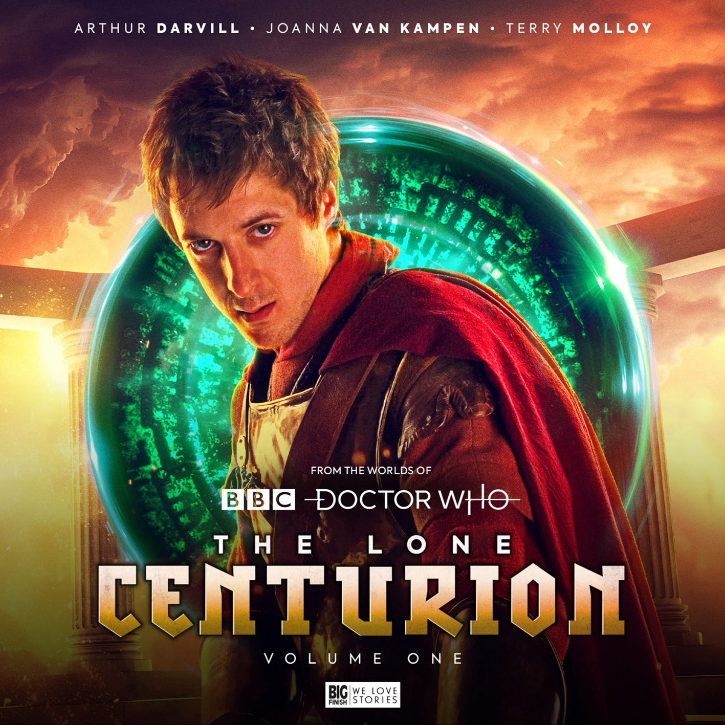 Out Now: Big Finish's The Lone Centurion – Volume One, Rome, With Rory Williams