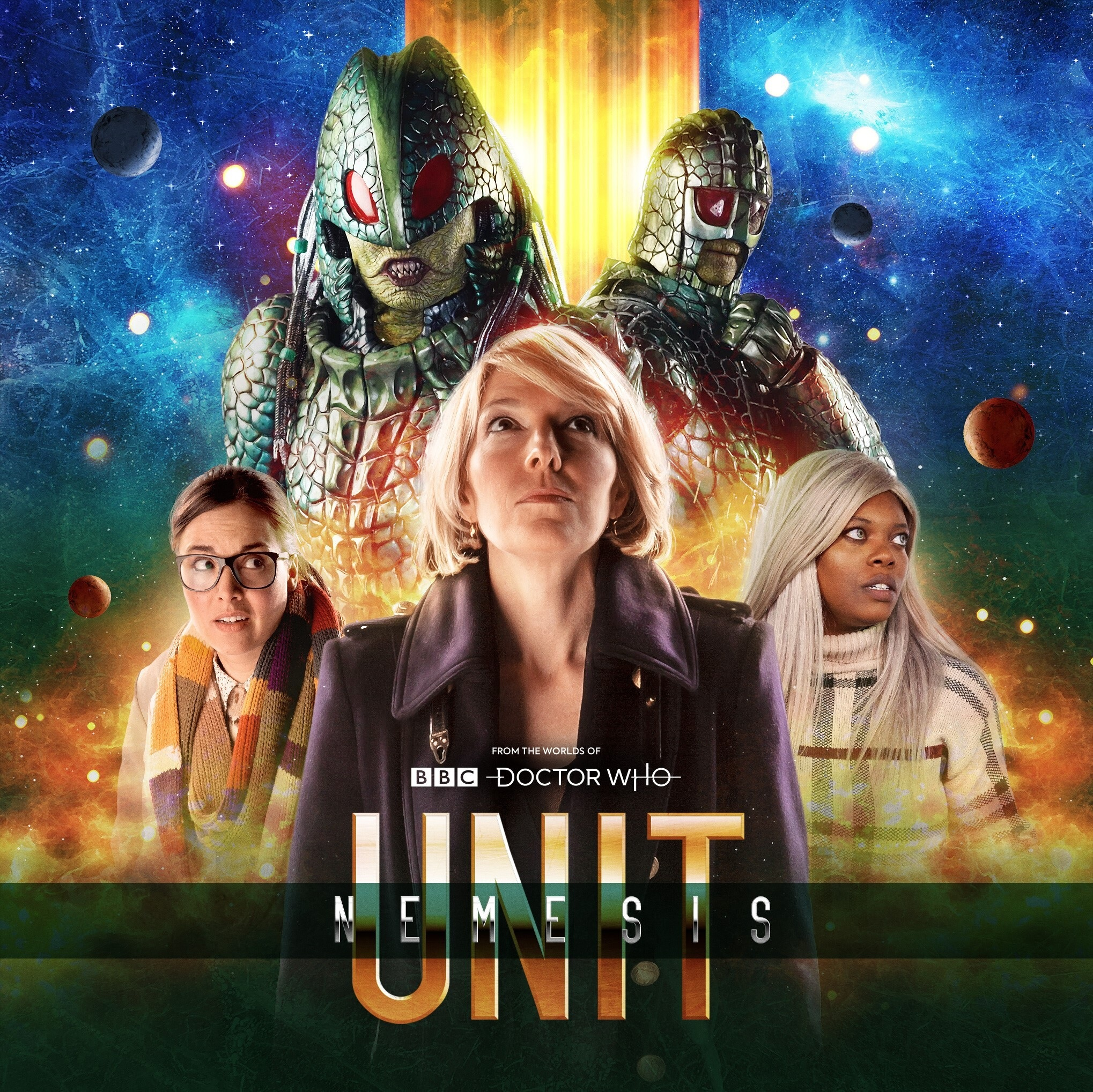 UNIT: Nemesis Audio Series Launches in November, Featuring the Ice Warriors
