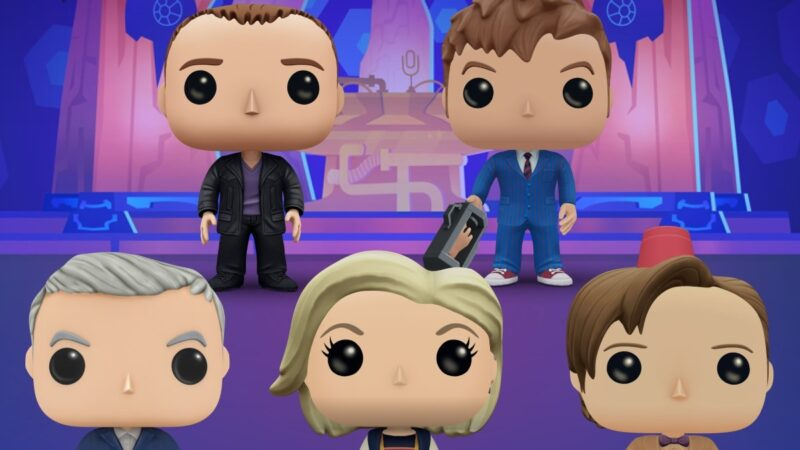 Doctor Who Joins Funko Pop! Blitz Smartphone Game