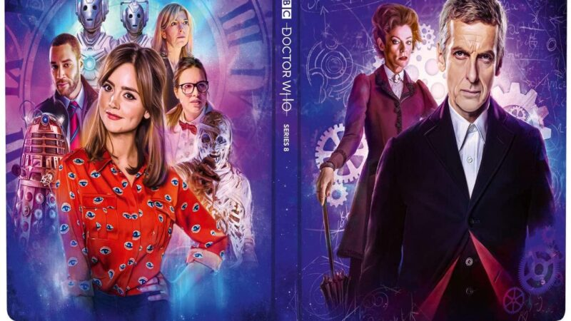 Doctor Who Series 8 to be Released on Steelbook Next Month!