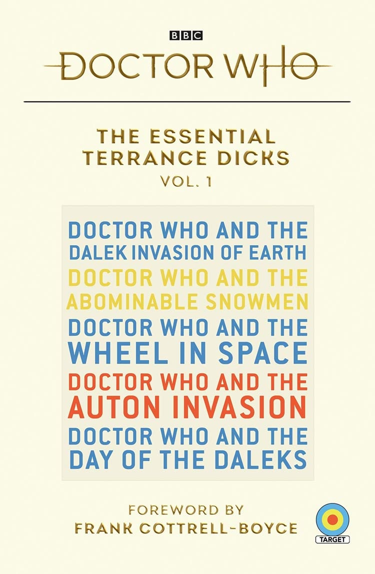 10 Target Novels to be Reprinted Across The Essential Terrance Dicks Book Set
