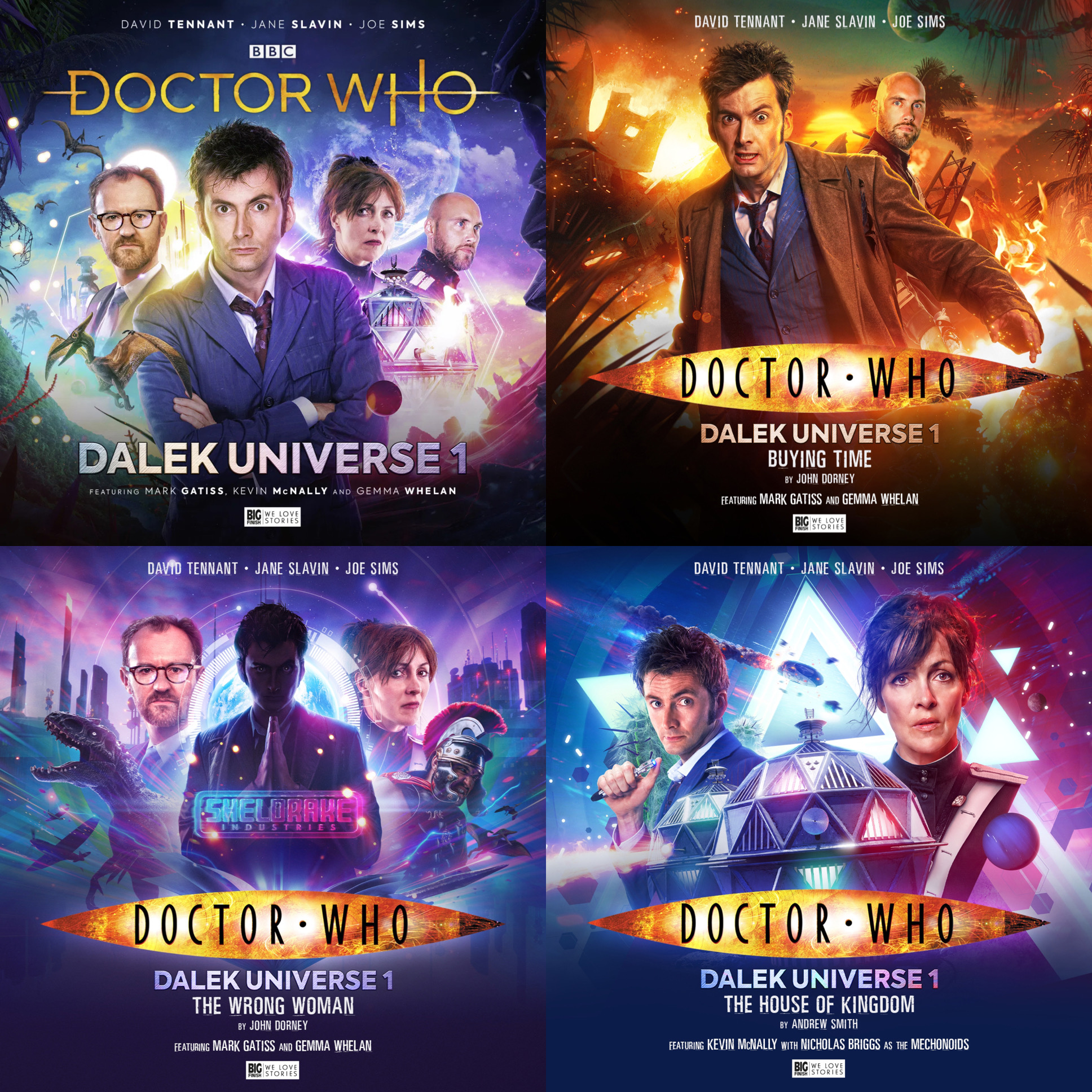 Reviewed: Big Finish's Doctor Who – Dalek Universe 1