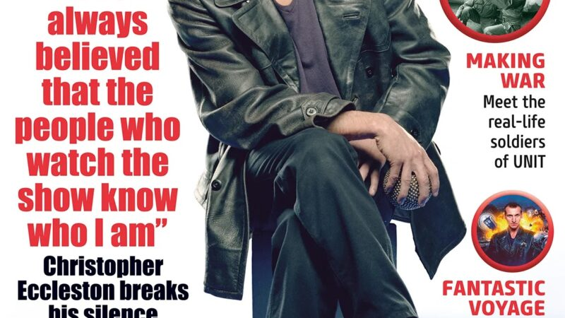Out Now: Doctor Who Magazine 563 Includes An Exclusive Interview with Christopher Eccleston