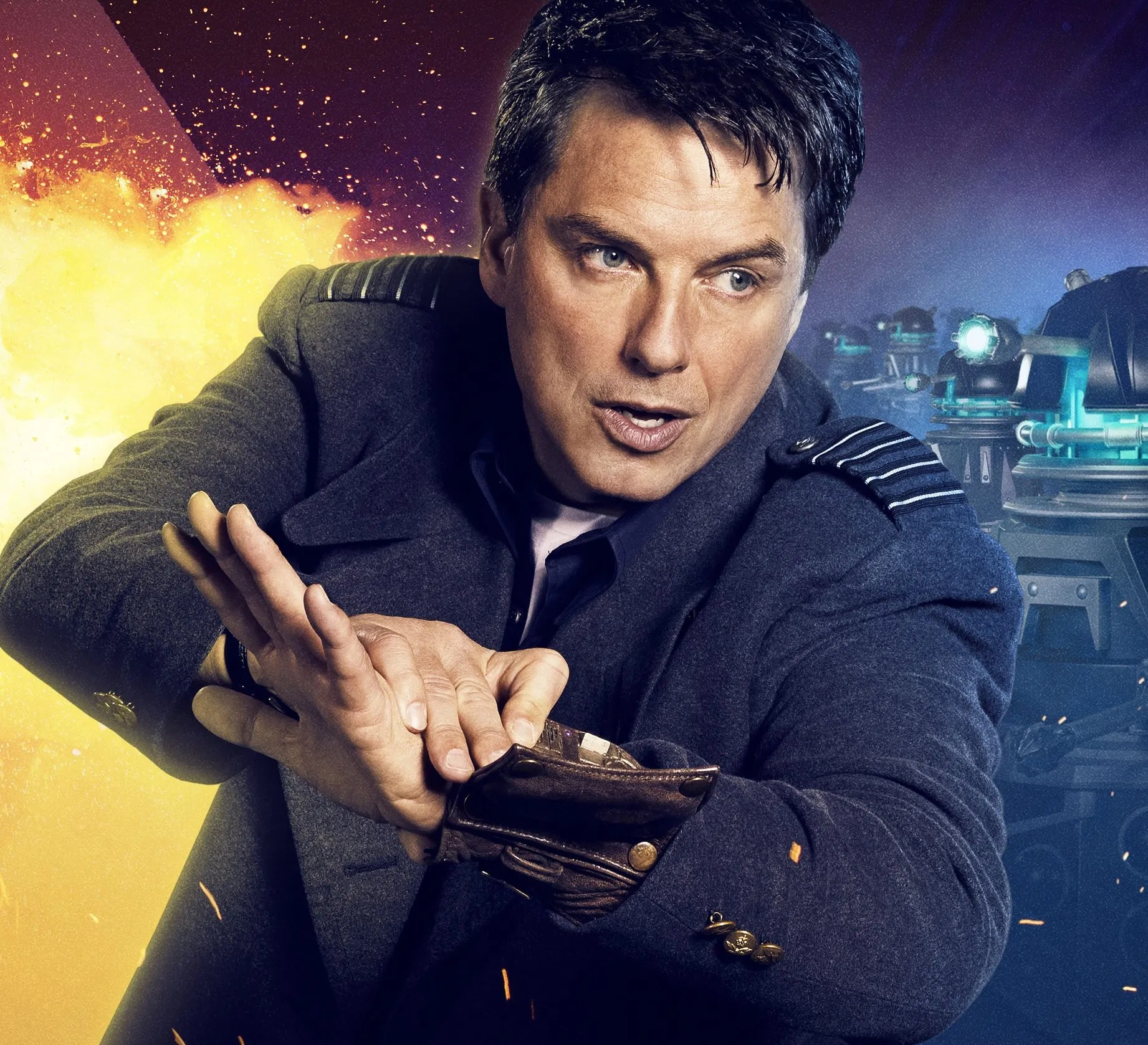 The Doctor, Captain Jack Harkness, and Captain Scarlet: How to Make Immortality Interesting