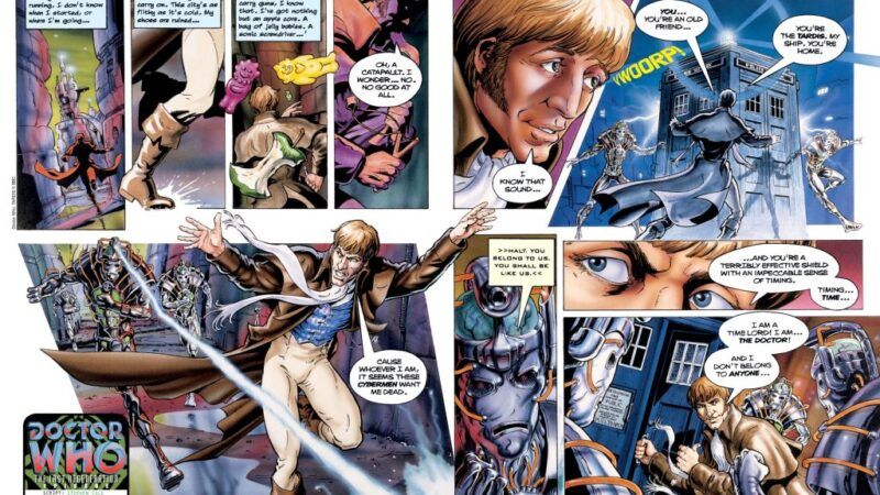 The Lost Doctor Who Comic Strips