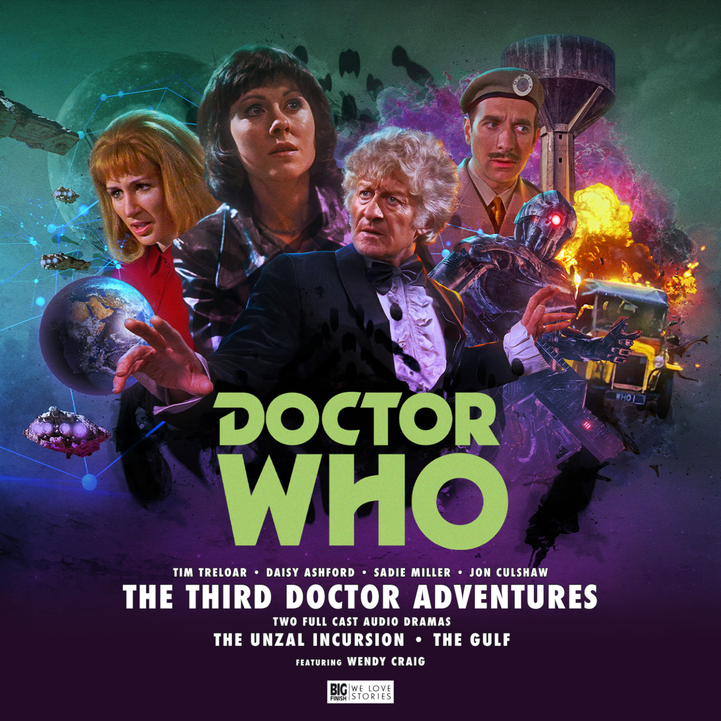 Out Now: Big Finish's Third Doctor Adventures Volume 7