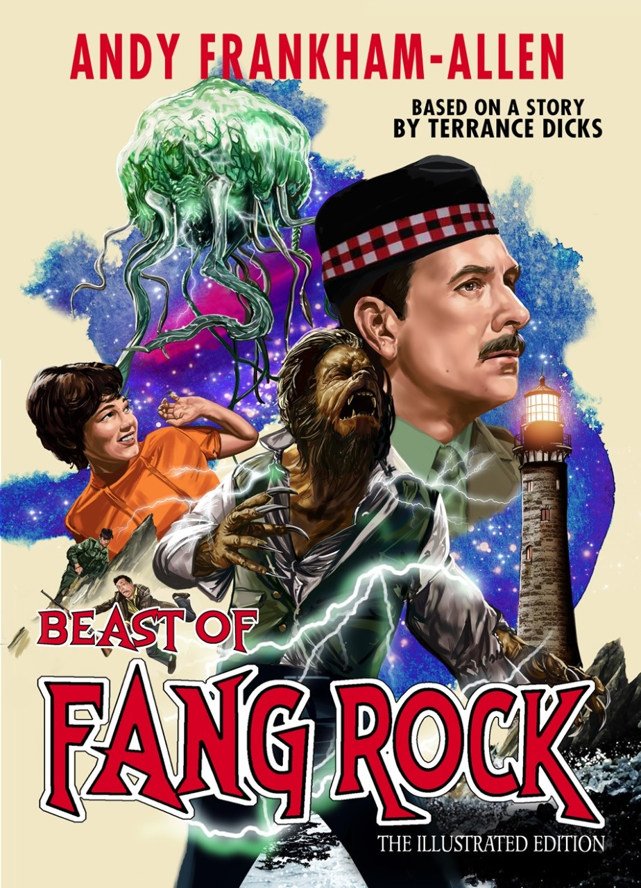 Candy Jar Books Announces an Updated Beast of Fang Rock: The Illustrated Edition