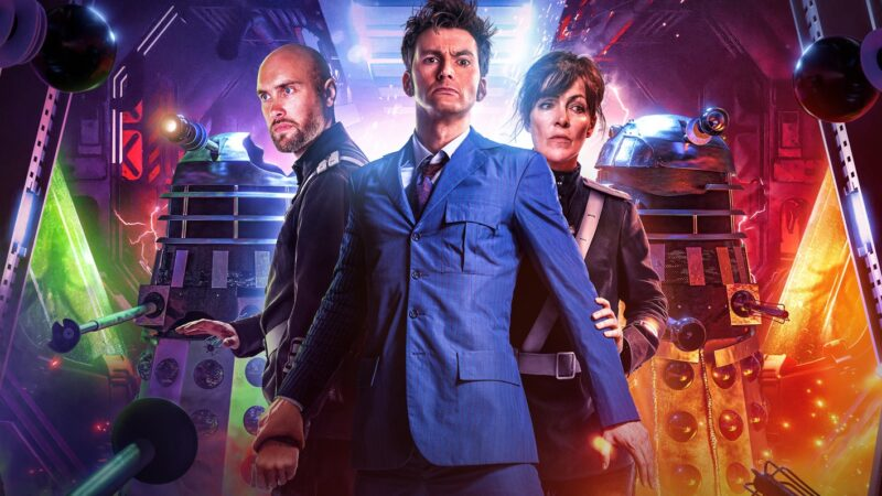 Covers and Cast Announced for Big Finish's Dalek Universe 2 Starring David Tennant