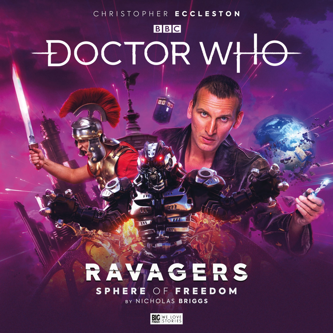 Reviewed: Big Finish's The Ninth Doctor Adventures – Sphere of Freedom
