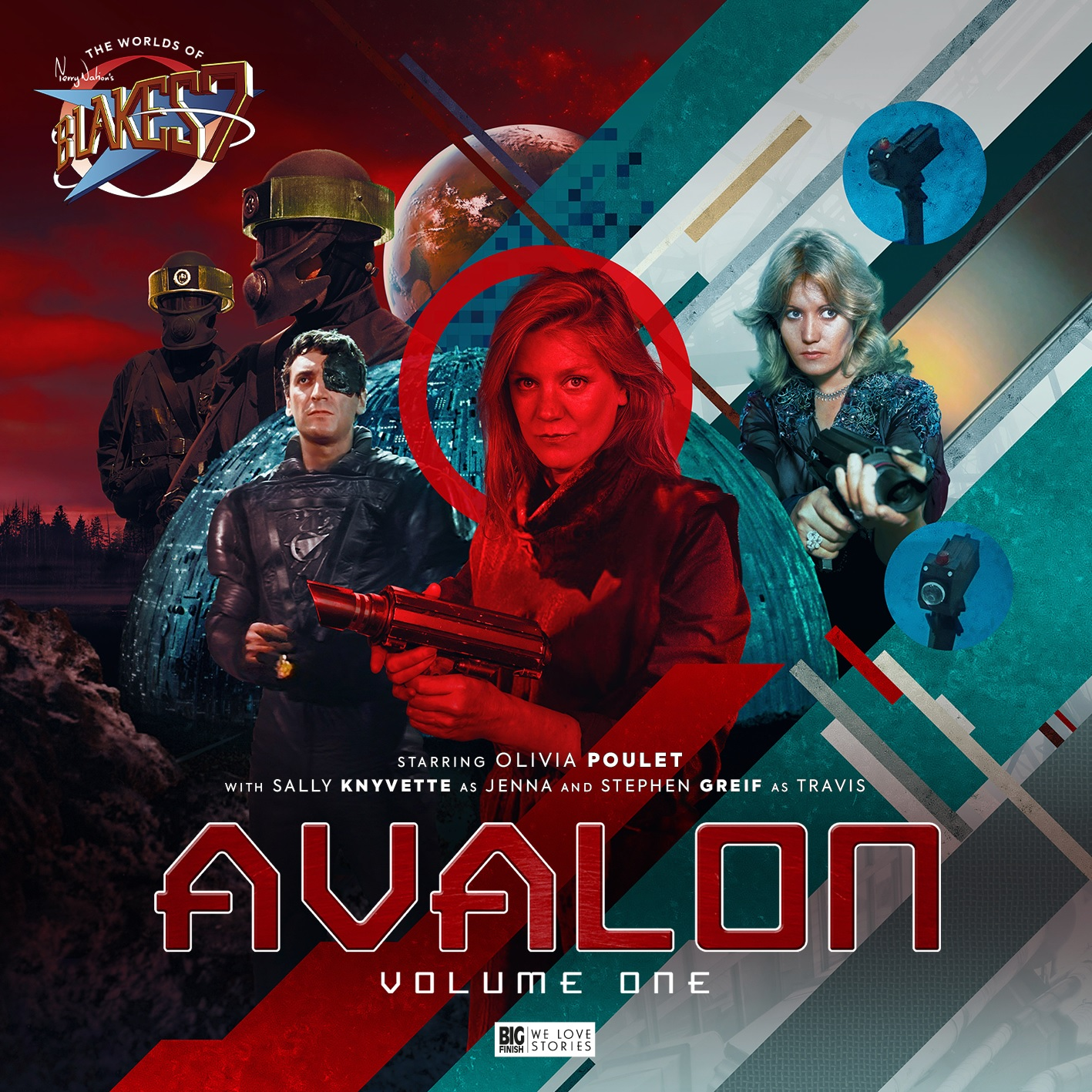 Out Now: Big Finish's The Worlds of Blake's 7 Launches with Avalon Volume 1