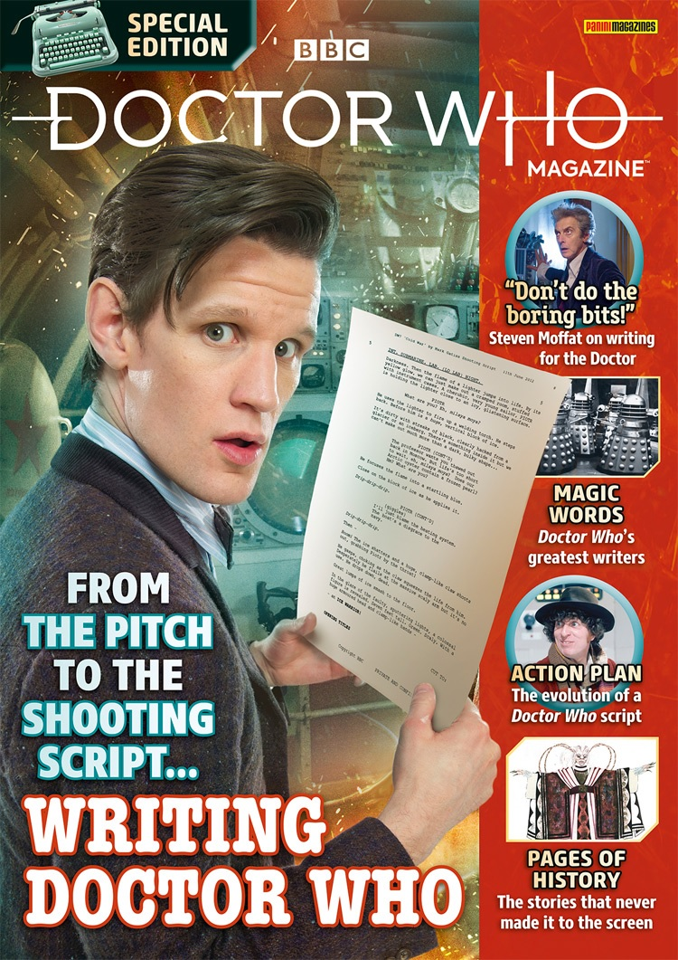 Out Now: Doctor Who Magazine Special Edition – Writing Doctor Who