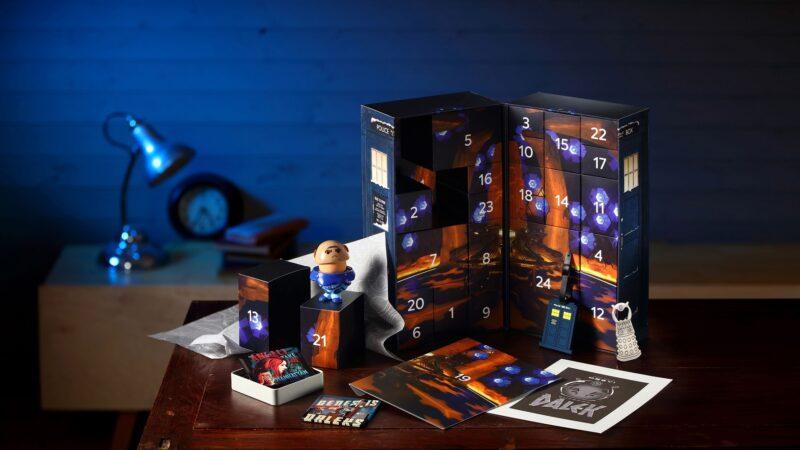 HeroCollector Announces a Very Exciting Doctor Who TARDIS Advent Calendar