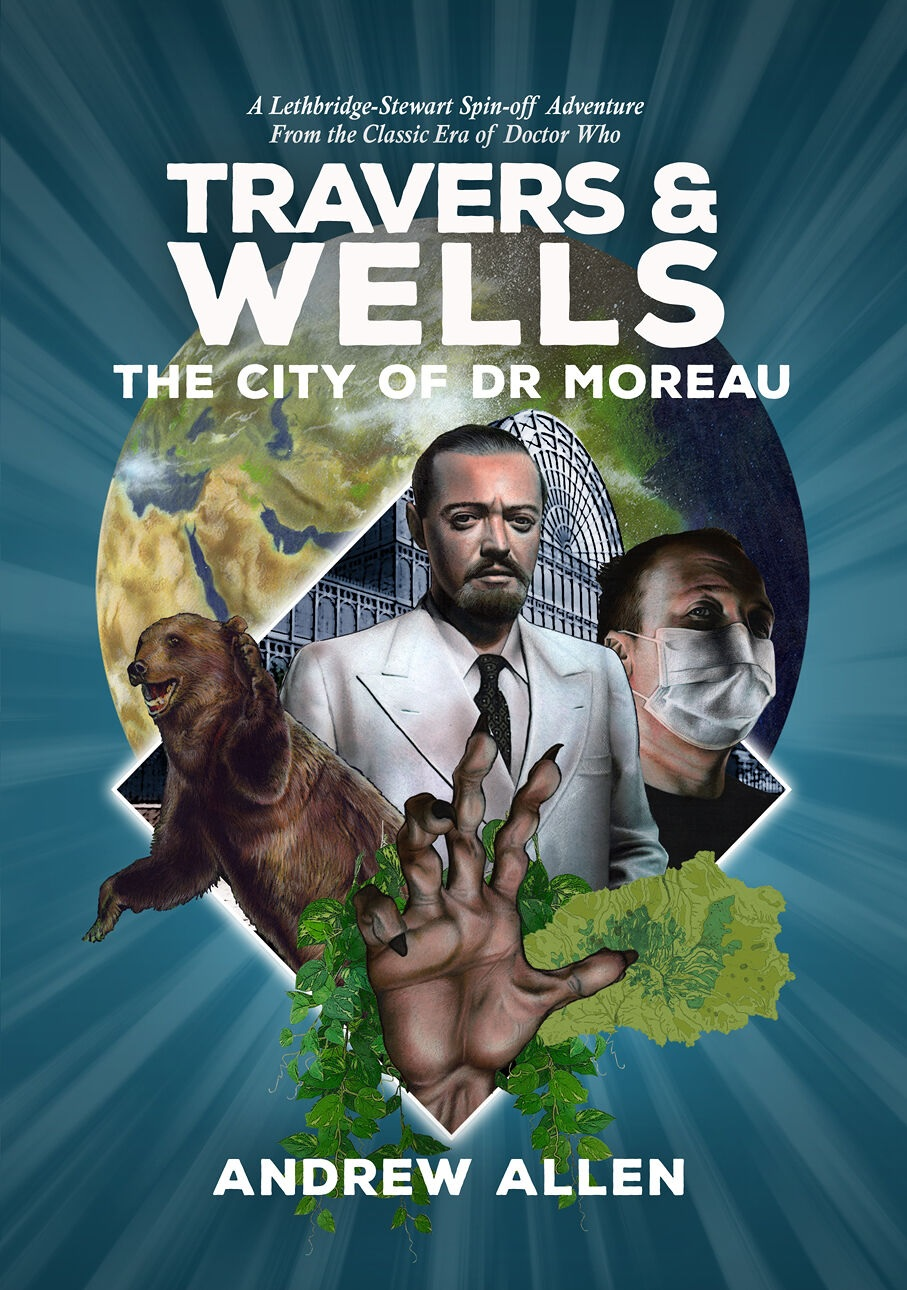 Candy Jar Books Reveal Travers & Wells: The City of Dr Moreau