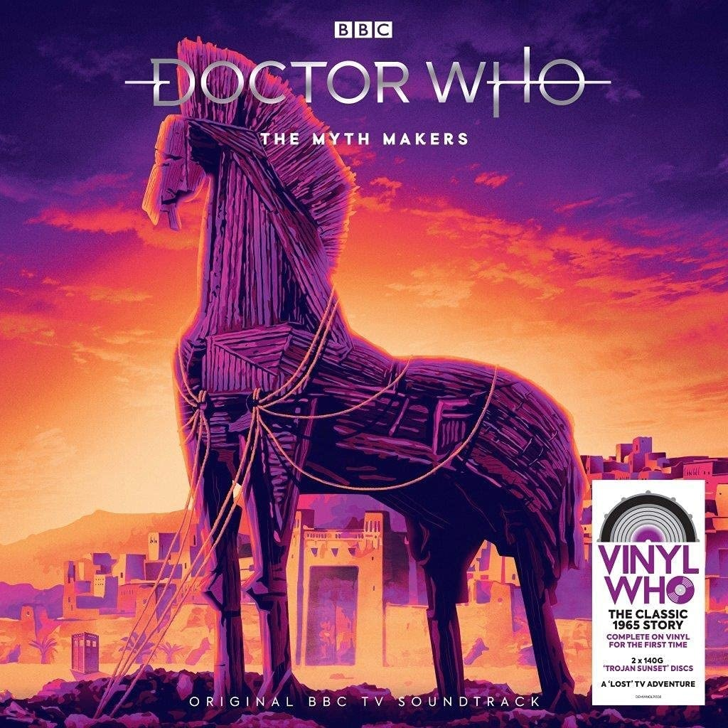 Coming Soon: The Myth Makers Gets the Vinyl Who Treatment