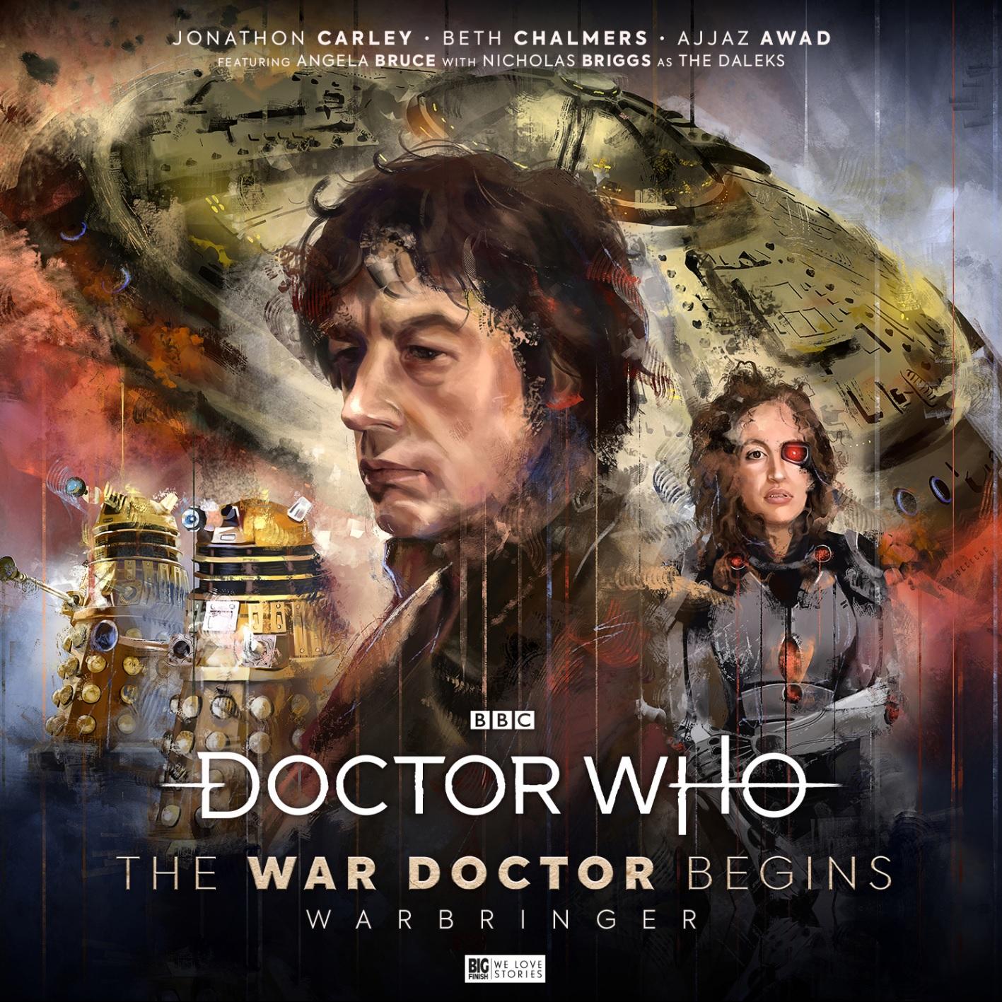 Coming Soon from Big Finish: The War Doctor Begins Volume 2 — Warbringer