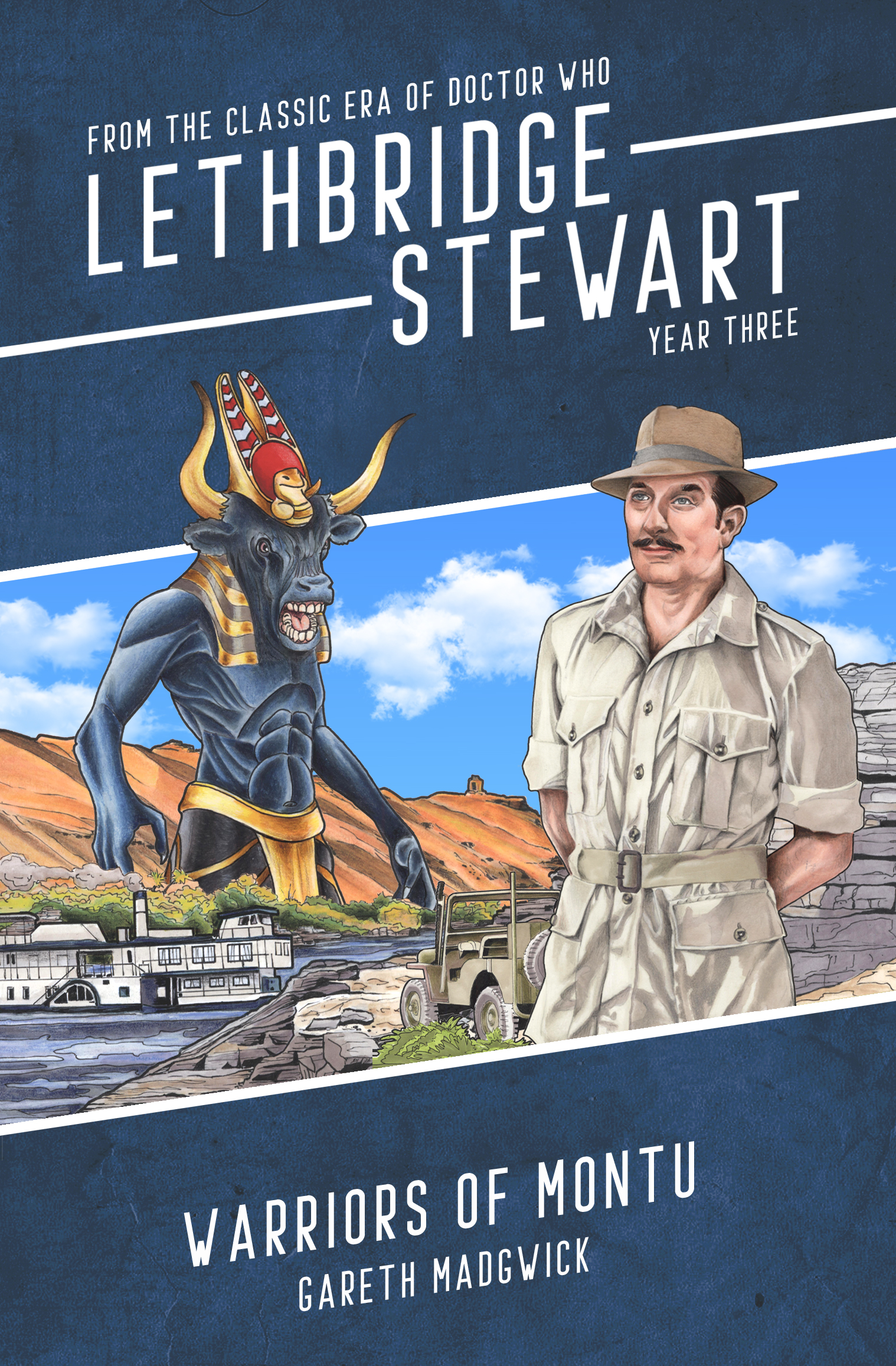 Warriors of Montu Launches Candy Jar Books' Lethbridge-Stewart Series 9