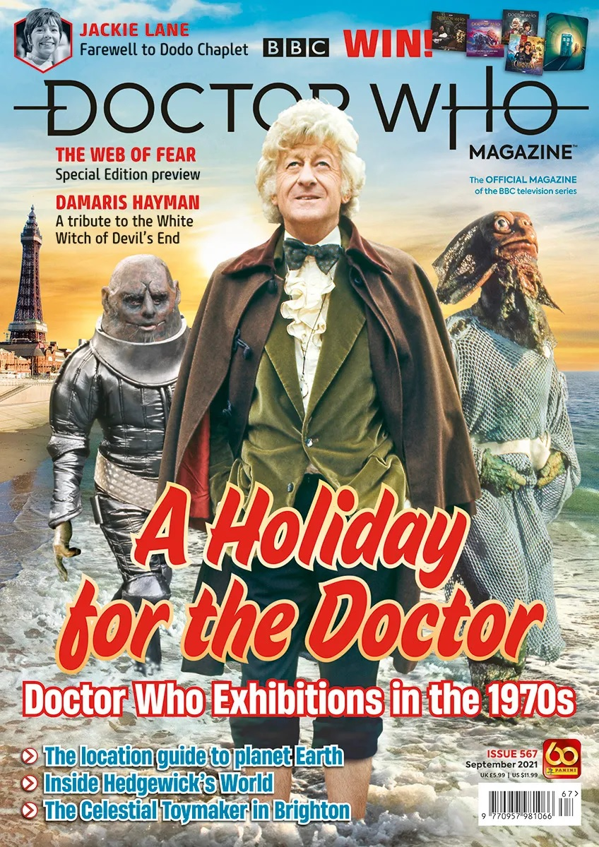 Out Now: Doctor Who Magazine #567