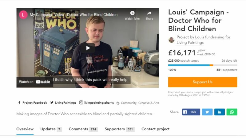 This Wonderful Project Aims to Make Doctor Who Books More Accessible for Blind Fans