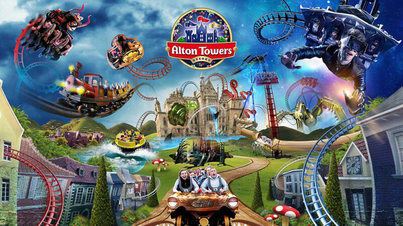 Carnival of Monsters: Doctor Who Does Alton Towers Rides