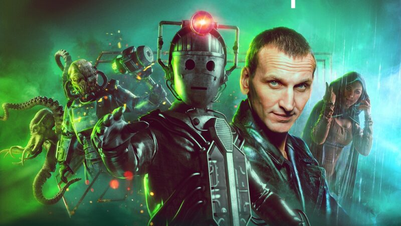 Covers and Details Revealed for Big Finish's Ninth Doctor Adventures: Lost Warriors