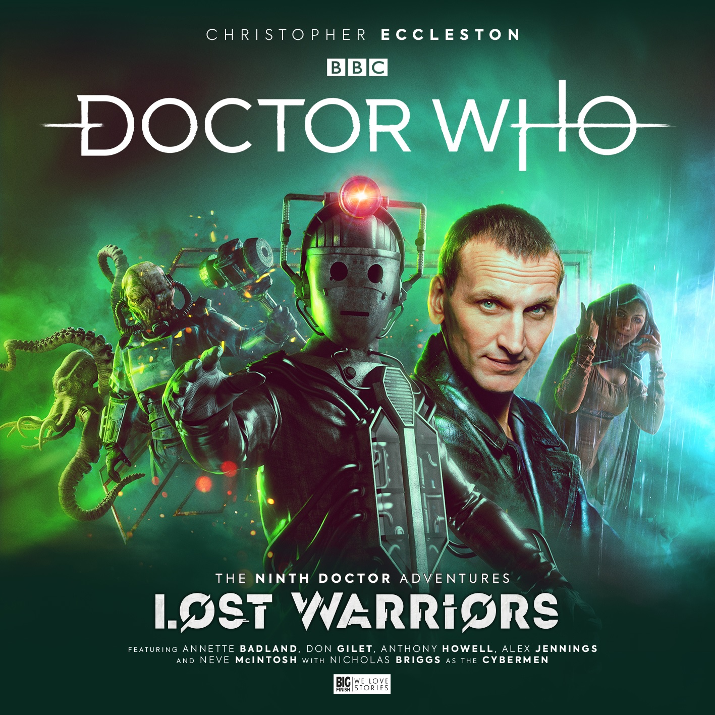 It's the Ninth Doctor vs. the Cybermen in Big Finish's Lost Warriors