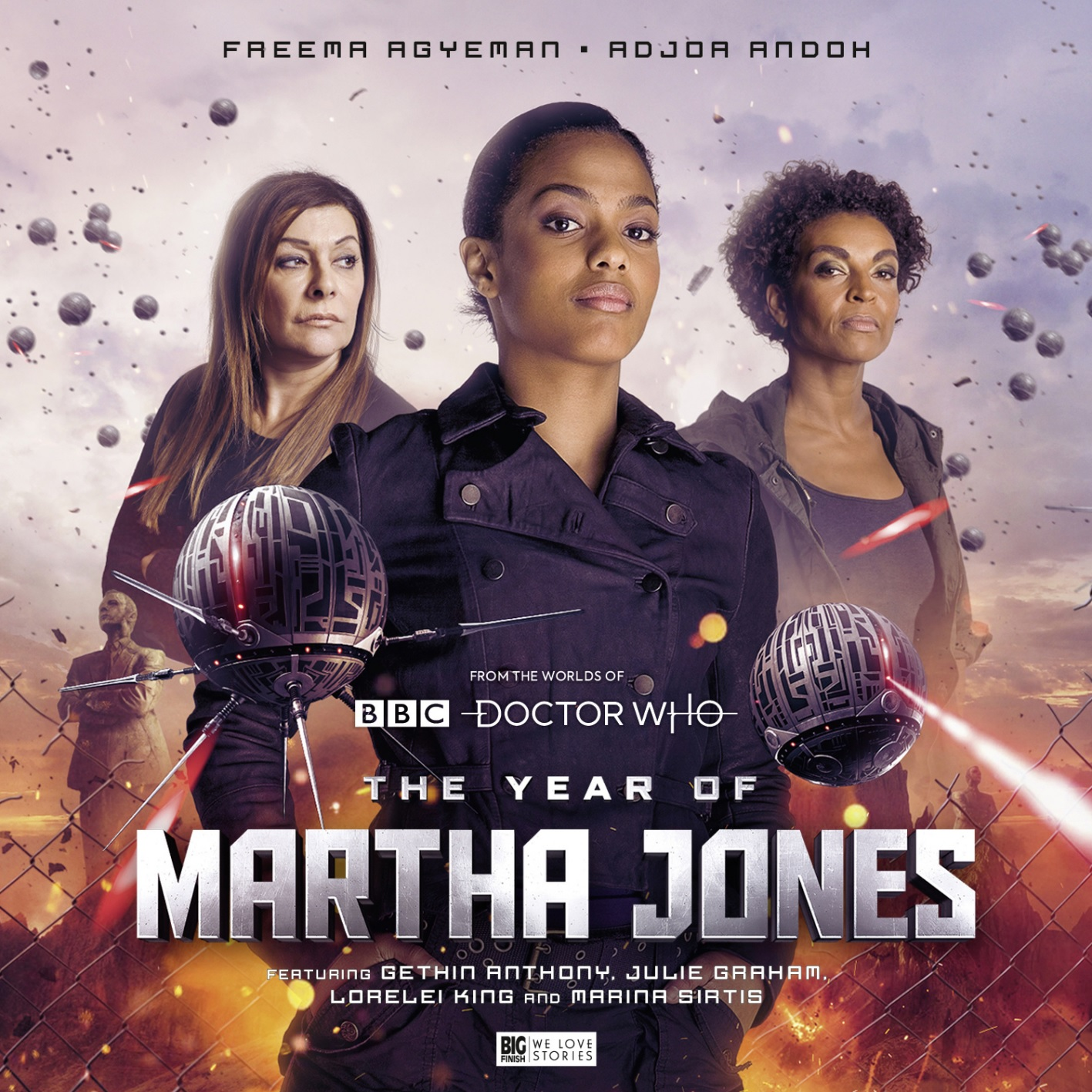 Big Finish Reveals More Details of The Year of Martha Jones