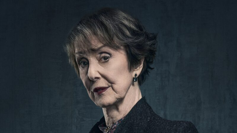 Una Stubbs as Mrs Hudson