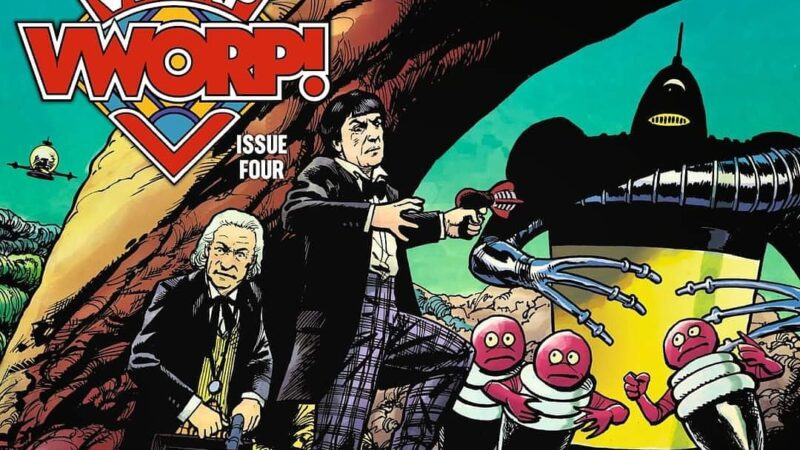 We're Very Exciting Because Vworp Vworp #4 Is Available to Pre-Order Now!