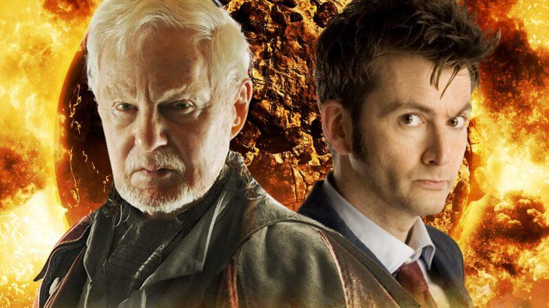 David Tennant's Tenth Doctor vs Derek Jacobi's Master in Big Finish's Self-Defence