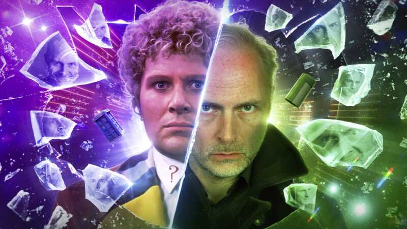 Out Now from Big Finish: The Sixth Doctor Faces Mark Bonnar's The Eleven