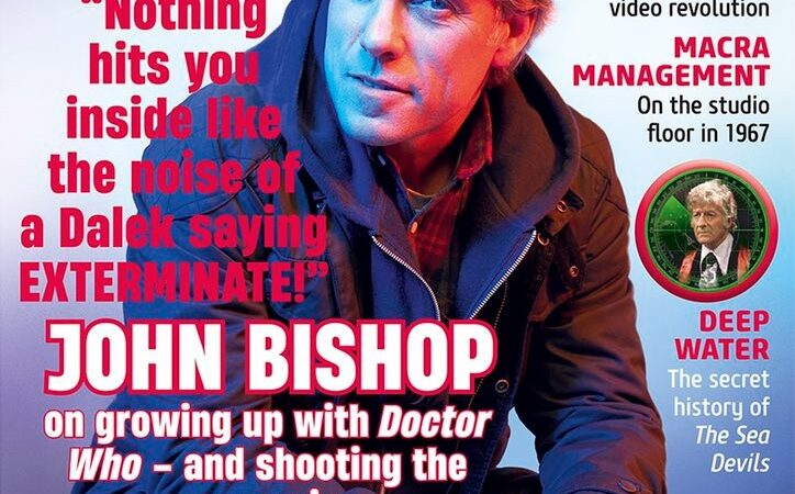 Out Now: Doctor Who Magazine #569 Includes an Interview with New Companion, John Bishop