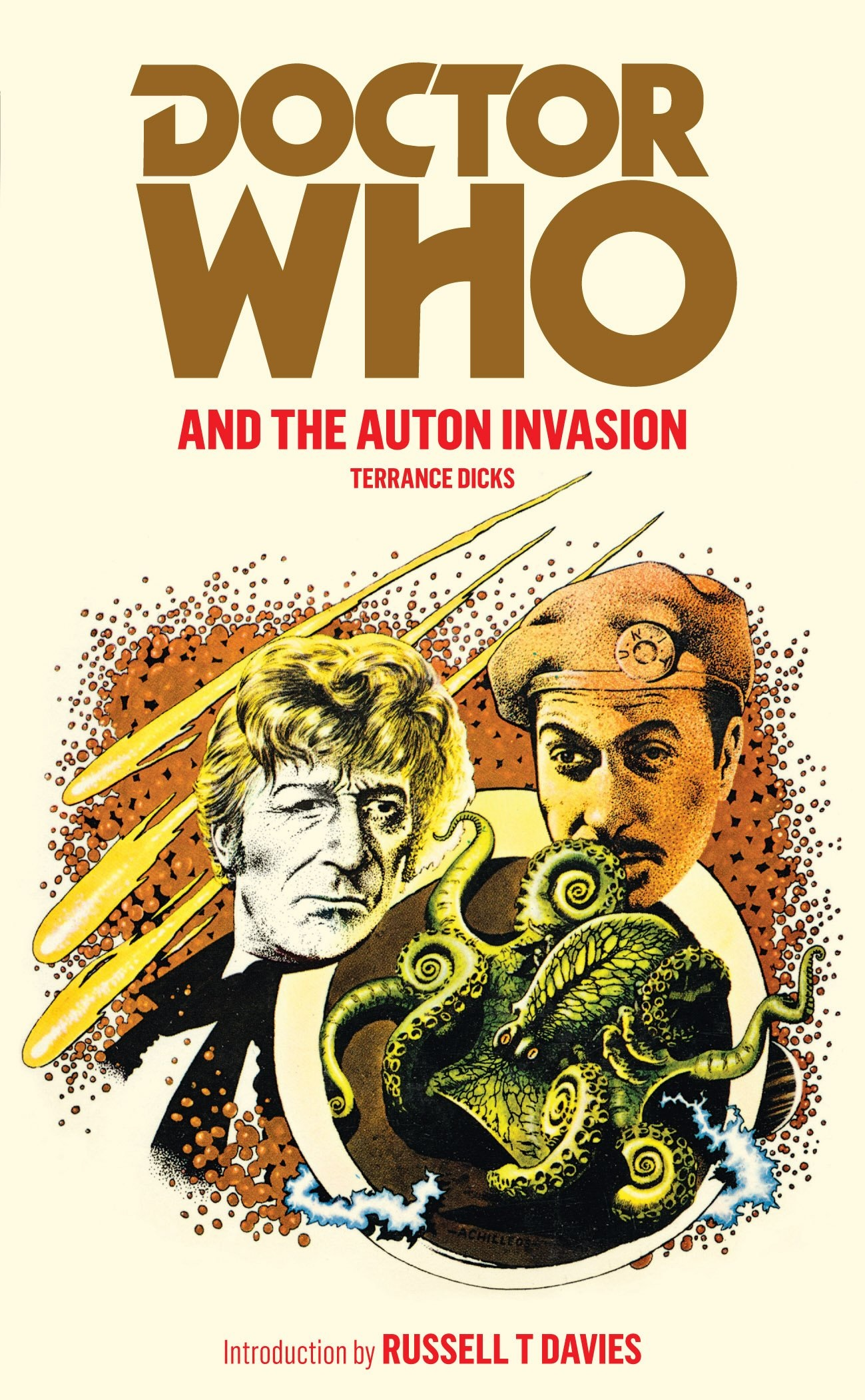 Reviewed: The Essential Terrance Dicks – Doctor Who and the Auton Invasion (Target)