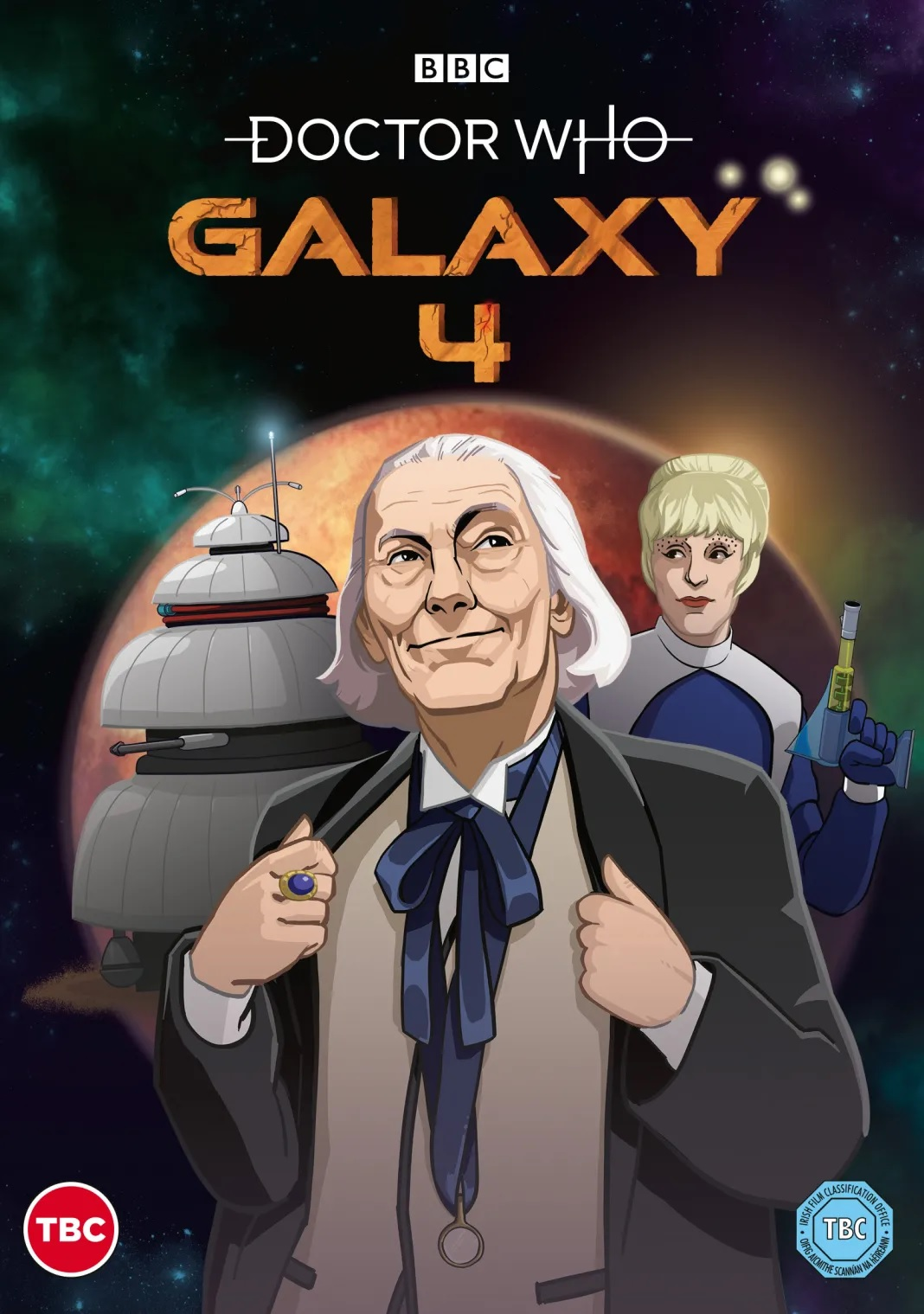 First Doctor Classic, Galaxy 4, to Be Animated for DVD and Blu-ray